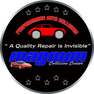 Magnum Collision Repair Center Retina Logo