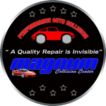 Magnum Collision Repair Center Logo