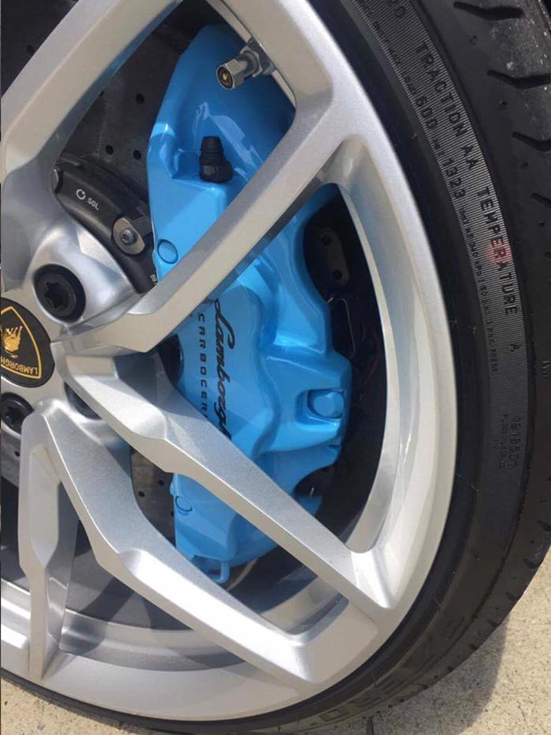 Painted Calipers And Wheels Magnum Collision Repair Center